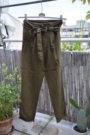 leichte Leinenhose von YAS mit Seitentaschen, Gr. S