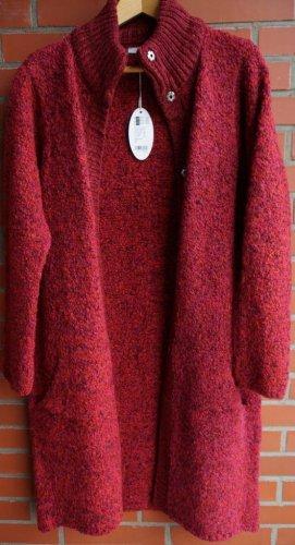 Edc Esprit Knitted Coat multicolored mixture fibre