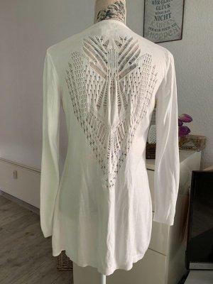 Alba Moda Veste longue blanc