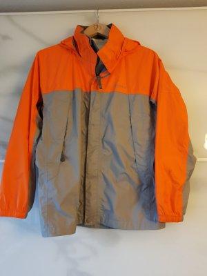 Marmot Imperméable gris clair-orange