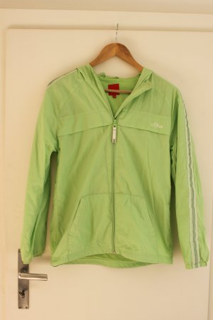 s.Oliver Imperméable vert clair polyester