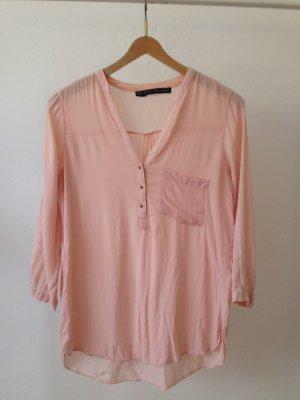 Leichte rosa Bluse von Zara