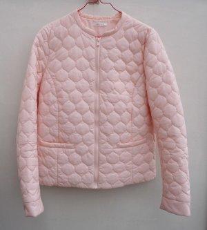 Leichte rosa Sommer Kurzjacke Größe 40 Rundhals, Reißverschluß
