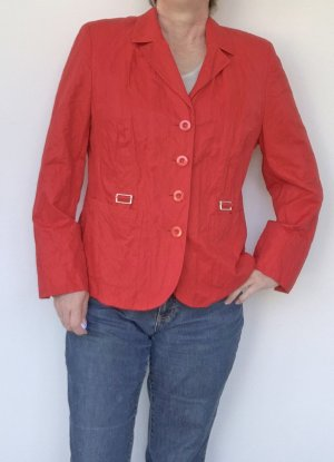 leichte rote Jacke von Basler, Gr. 44