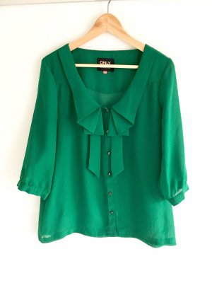 Only Tie-neck Blouse forest green