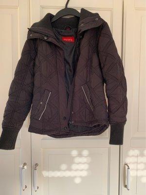 Quilted Jacket black-dark grey