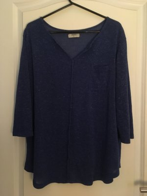 Papaya Camicia oversize blu
