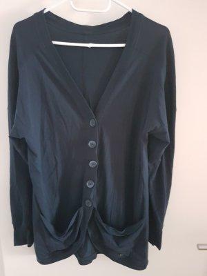 Veste chemise bleu foncé