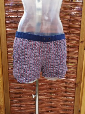 Silvian heach Shorts red-blue