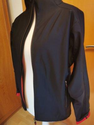 Chilli Softshell Jacket black-red