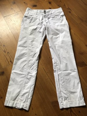 Bandolera Pantalone chino bianco Cotone