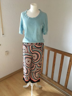 Comma Pantalone culotte multicolore Viscosa