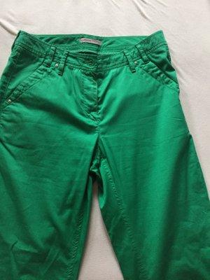 Atelier Gardeur Pantalon chinos vert coton