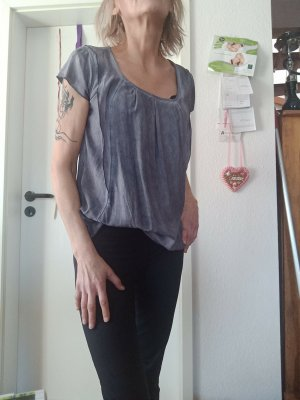 Leichte Sommer Top Jeansfarbig