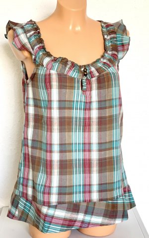 Colours of the World Sleeveless Blouse multicolored