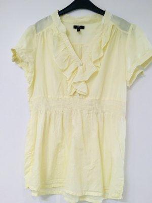 Ann Christine Short Sleeved Blouse primrose