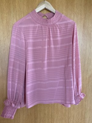 Mint&berry Long Sleeve Blouse pink polyester