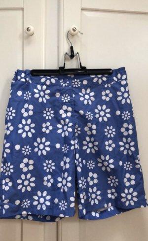 Alive Shorts bianco-blu acciaio