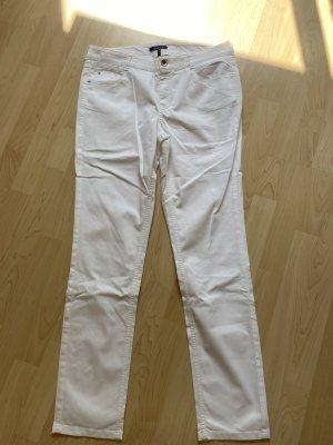 Atelier Gardeur Spodnie ze stretchu biały