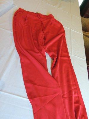 Stradivarius Pantalone alla turca rosso Viscosa
