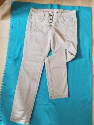 Tom Tailor Pantalon boyfriend beige clair