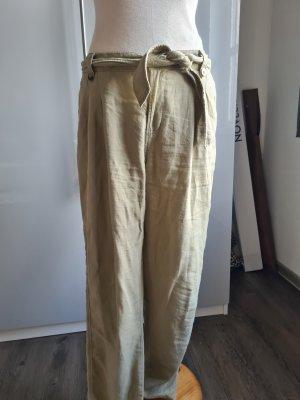Orsay Pantalone di lino beige