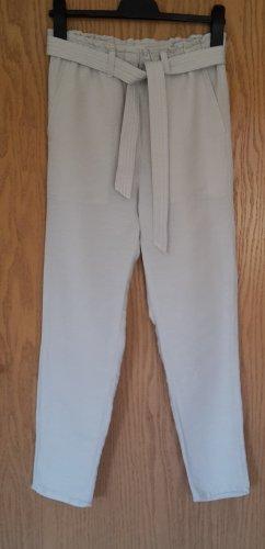 Leichte Sommerhose mit Gürtel  Gr. 34
