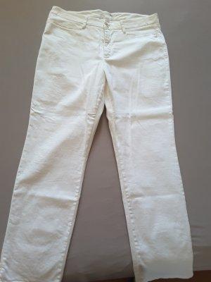 Leichte Sommerhose weiß MAC, Größe 42 wenig getragen