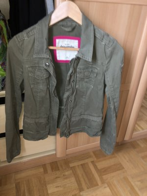 Abercrombie & Fitch Military Jacket multicolored cotton