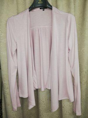 Chaqueta estilo camisa rosa empolvado-rosa
