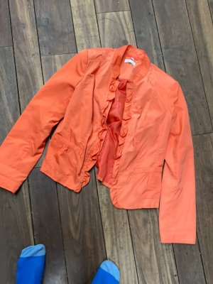 Charles Vögele Blouse Jacket apricot