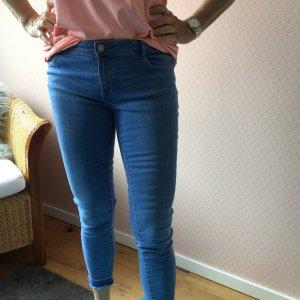 Zara Jeans a 7/8 blu fiordaliso