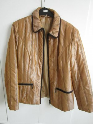 Quilted Jacket gold orange