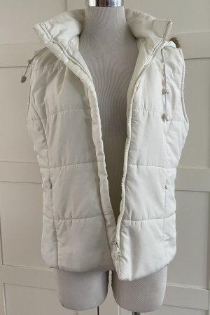 FlashLights Pikowana kamizelka biały-w kolorze białej wełny