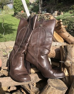 Heel Boots light brown