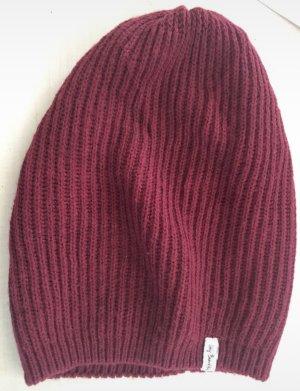 Esprit Crochet Cap bordeaux-dark red