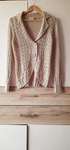 Gina Benotti Coarse Knitted Jacket cream