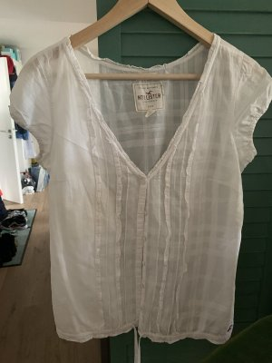 Hollister Bluzka z krótkim rękawem biały