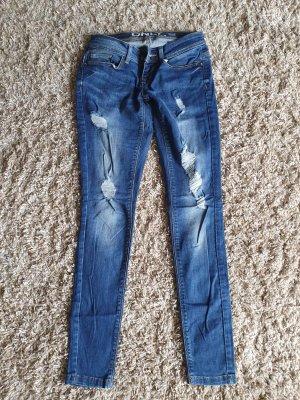 & DENIM Jeans skinny blu