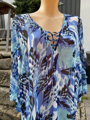 Leichte transparente Tunikabluse * Größe XL * passt 42-46