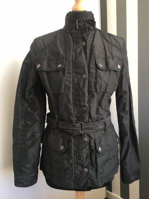 Mauritius Biker Jacket black polyester