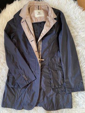 mabrun Long Jacket beige-dark blue