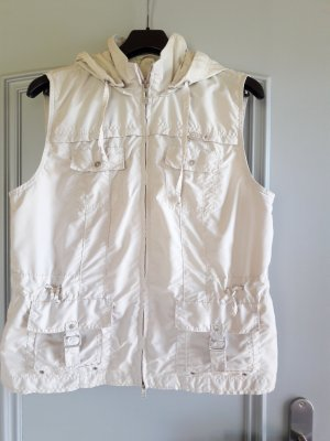 Cecil Hooded Vest oatmeal