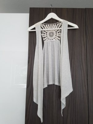 Only Fringed Vest multicolored