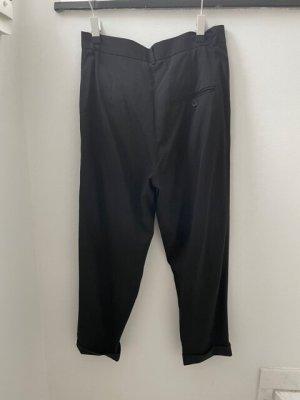 COS Pantalon 7/8 noir laine