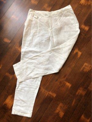 Zara 7/8 Length Trousers white-black