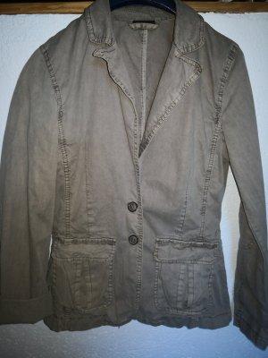 Colors of the world Denim Jacket khaki