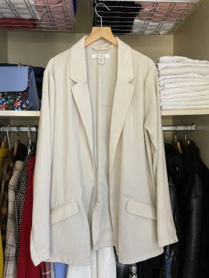 New Yorker Boyfriend Blazer cream