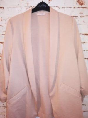 Orsay Sweat Blazer pink cotton