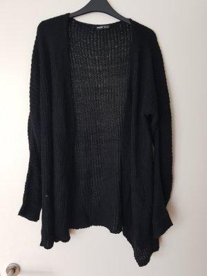 leichter Cardigan in schwarz